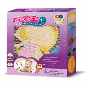 Fancy Dress Bath Stickers in Box Set from Buddy & Barney Ltd