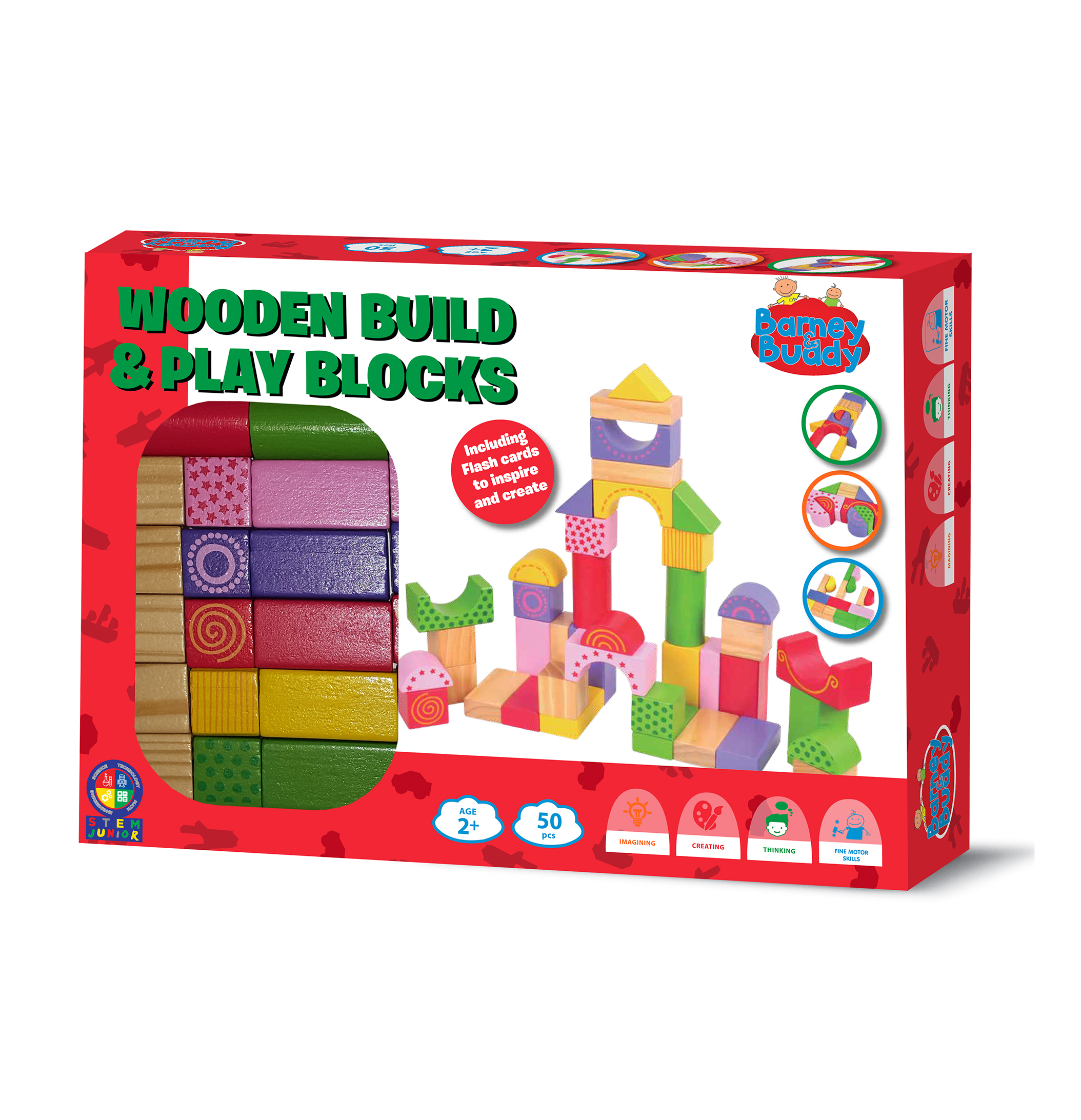 Wooden Build & Play