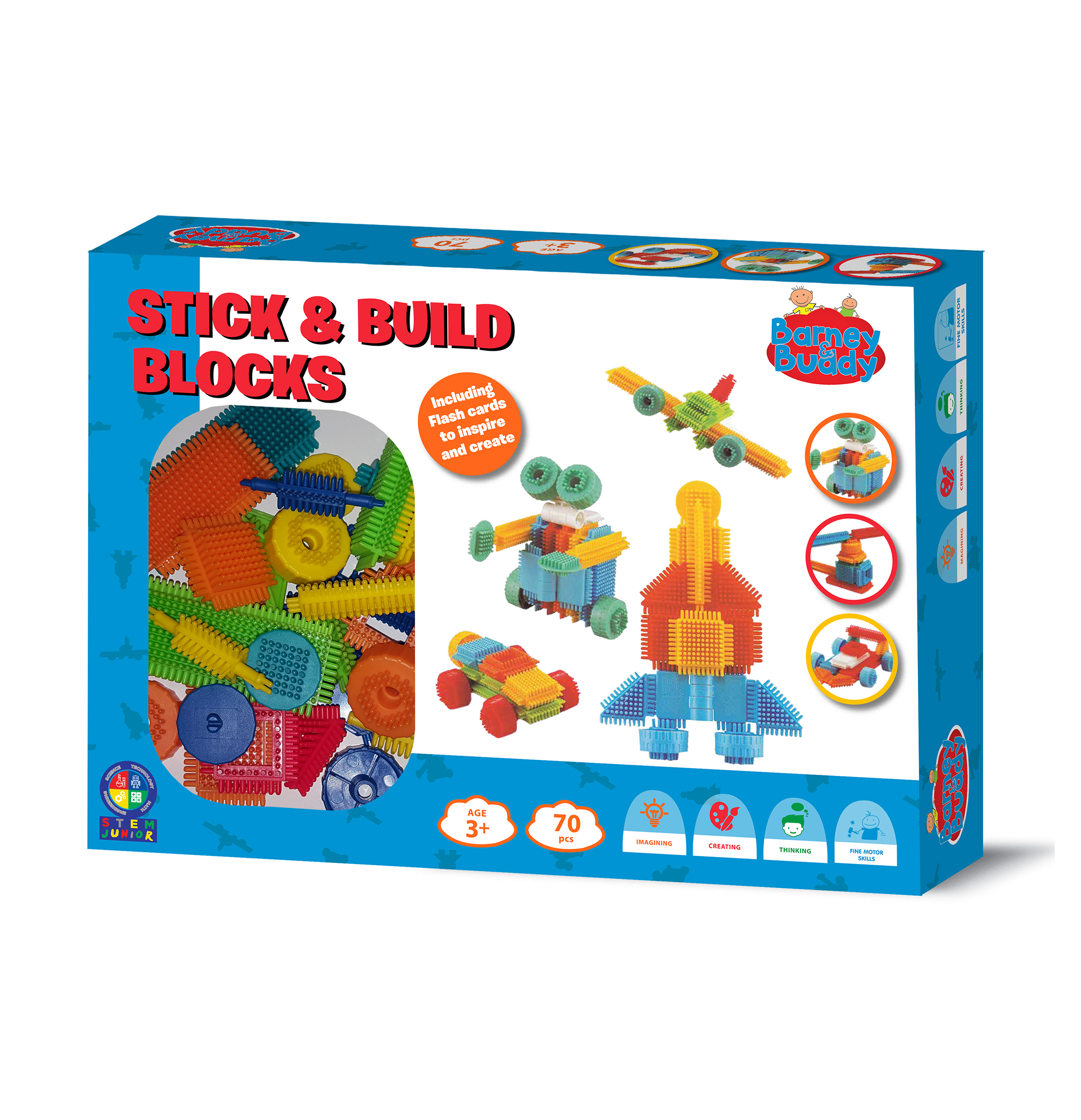 Stick & Build Blocks